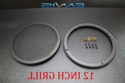12 INCH STEEL SPEAKER SUB SUBWOOFER GRILL FINE MESH W/ CLIP