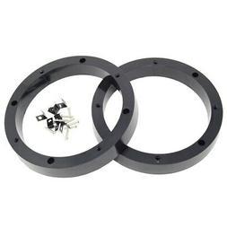 "1 Pair 8.5"" inch Plastic Spacer Speaker Rings Custom Mountin"