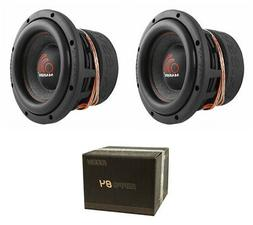 Massive Audio Hippo84-8 Inch Car Audio 1,000 Watt Hippo Seri