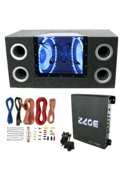 1-Way  2-10in. Car Subwoofer install with amp and wiring kit