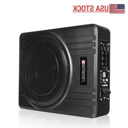 10 600w under seat car subwoofer powered