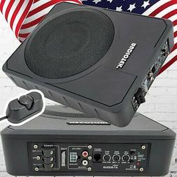 "Audiotek 10"" 800 Watt Slim Under-Seat Active Power Audio Car"