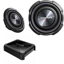 """2X Pioneer TS-SW2502S4 10"""" shallow SubWoofer 1200W W/ 1-Chan"""