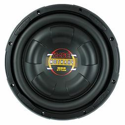 Boss 10 Inch 800W Shallow Slim Car Audio Subwoofer Power Sub