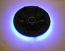 10 Inch Color LED Light Subwoofer Speaker Ring Drilled Kicke