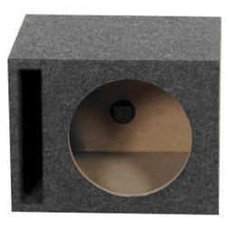 """10"""" MDF Subwoofer Cabinet Box.Slot Ported Bass Speaker Enclo"""