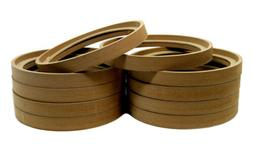 """10 Pcs 8"""" in MDF Wood Speaker Rings Subwoofer Mounting Space"""