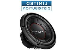 """Pioneer - 10"""" Single-Voice-Coil Subwoofer - Black"""