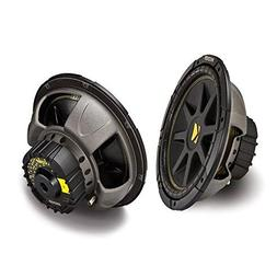 2 X Kicker 10C124 Comp 12''-Inch 600W Max Power EACH Car Sub