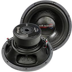 American Bass Usa HD 10D2 HD10D2 2000 Watts Max Dual 2Ohm 10