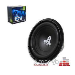 "10W0V3-4 - JL Audio 10"" Single 4-Ohm W0V3 Series Subwoofer"