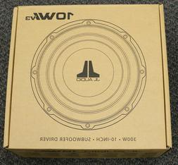 "10W1V3-4 - JL Audio 10"" Single 4-Ohm W1v3 Series Subwoofer"
