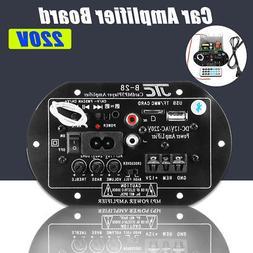 110V 220W Car bluetooth Subwoofer HiFi Bass Power Amplifier
