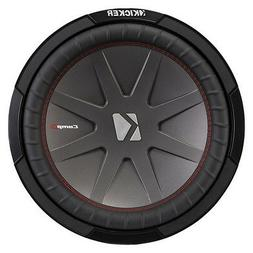 Kicker 43CWR124 12 Inch 1000 Watt 4 Ohm DVC COMPR Car Audio