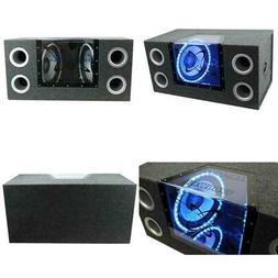 12 in 1200 Watt Car Audio Sub Subwoofer Box Bandpass Box Sub