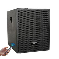 12-Inch 3000 Watt 4-Channel Stereo DJ/Powered Subwoofer with