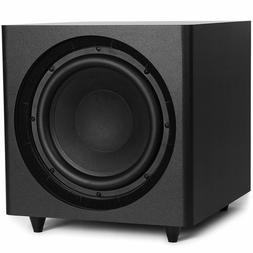 Micca 12-Inch Powered Subwoofer for Home Theater or Music+Br