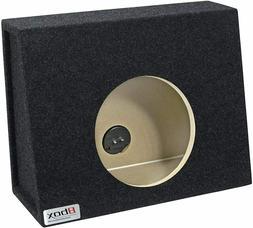 12 Inch Subwoofer Box Single Carpeted Enclosure Bass Speaker