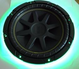 """12"""" Inch Wet Sounds Color LED Light Trim Subwoofer Speaker R"""