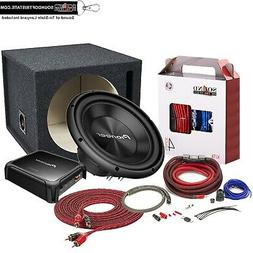 "Pioneer 12"" TS-A300D4 Subwoofer + GM-DX871 Mono Amplifier +"