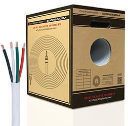 Mediabridge 12AWG 4-Conductor Speaker Wire w/Convenient Pull