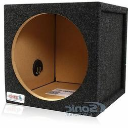 "Atrend 12SQL 1 Cu. Ft. 12"" Single Pro Series Sealed Subwoofe"