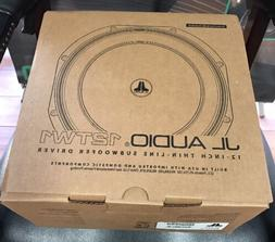 JL Audio 12TW1-4 12-inch Shallow Subwoofer Driver, 300W, 4Ω