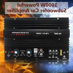 12V 1000W Mono Car Audio Power Amplifier Powerful Bass Board