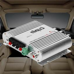 12V dc 200W Car HIFI  Audio Amplifier Booster Radio MP3 Ster