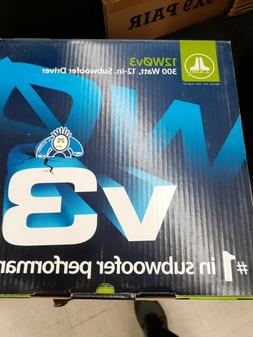"12W0V3-4 - JL Audio 12"" Single 4-Ohm W0V3 Series Subwoofer"