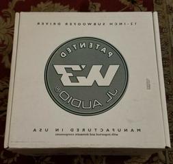"12W3V3-4 - JL Audio 12"" Singles 4-Ohm W3V3 Series Subwoofer"