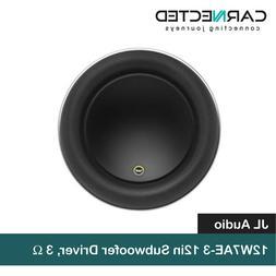 "12W7AE-3 - JL Audio 12"" Single 3-Ohm Subwoofer"