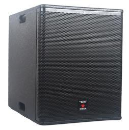 STARAUDIO 15 Inch 4500W PA DJ Powered Wood Subwoofer DSP KTV