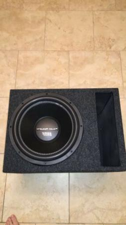 15 Inch Subwoofer Combo