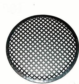 15 INCH SUBWOOFER SPEAKER COVERS WAFFLE MESH GRILL GRILLE PR
