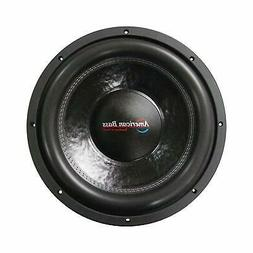 "15"" Subwoofer 2000 Watt American Bass Car Audio Speaker Dual"
