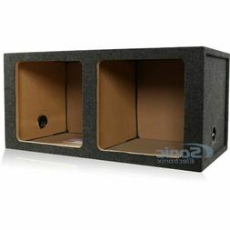 "Atrend 15KD 15"" Dual Sealed Square Subwoofer Enclosure for K"