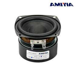 AIYIMA 1PC 3inch 25W Hi-Fi Subwoofer Speaker Woofer Audio Ba