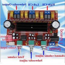 1Pc TPA3116D2 50Wx2+100W 2.1 Channel Digital Subwoofer Power