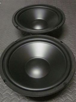 "10"" Speaker Woofers.Ten Inch Subwoofer Replacement. Pair.8"