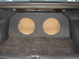 "ZEnclosures 2-10"" Subwoofer Box for the 2007-2015 Nissan Alt"