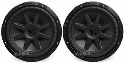2 Kicker 43CVR124 12 Dual Voice Coil 4 Ohm Car Stereo Subwoo