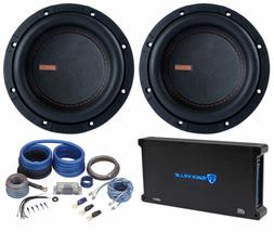 """2) Memphis Audio MOJO MJM622 6.5"""" 1400w Competition Subwoofe"""