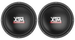 "MTX Audio Terminator TN12-02 12"" 800 Watt 2 Ohm Car Subwo"