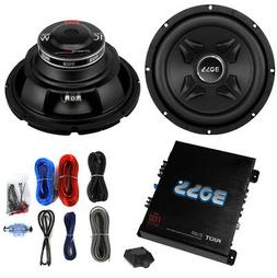 "2) Boss CXX10 10"" 1600W Car Audio Power Subwoofer Sub+ Mono"
