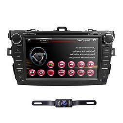 hizpo 8 Inch 2 Din Car Radio Stereo Navigation DVD Player Fi