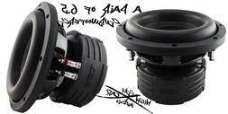 """DS18 Elite Z6 6.5"""" Subwoofer Dual 4 Ohm 600 Watts Max Bass"""