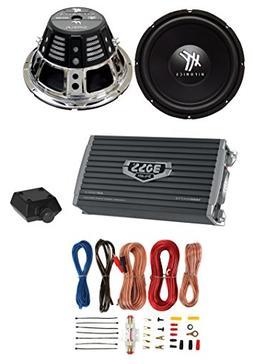 """2) HIFONICS HFX12D4 12"""" 1600W Car Audio DVC Subwoofers +2 Ch"""