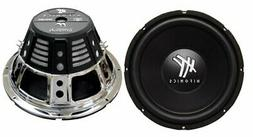 "2) HIFONICS HFX12D4 12"" 1600W Car Audio DVC Subwoofers Power"