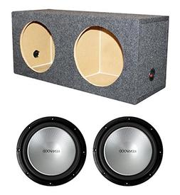 "2) New Kenwood KFC-W12PS 12"" 2000W Car Subwoofers KFCW12PS +"